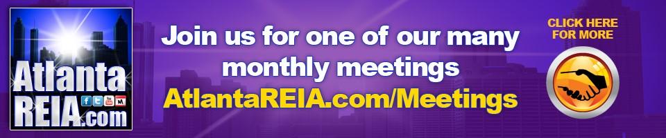 Atlanta REIA Meeings