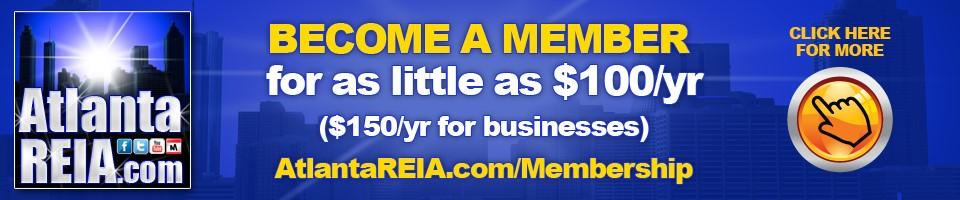 Atlanta REIA Membership