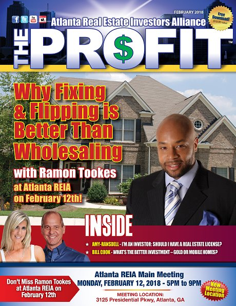 The Profit February 2018 - The Official Newsletter of Savannah REIA