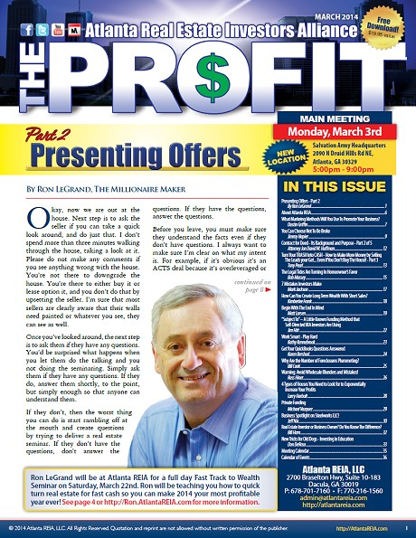 Login to Download The Profit March 2014
