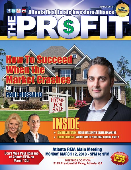 The Profit March 2018 - The Official Newsletter of Savannah REIA