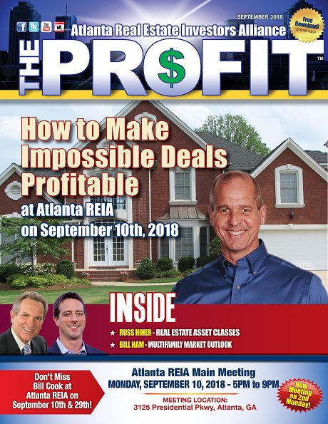 The Profit September 2018 - The Official Newsletter of Savannah REIA