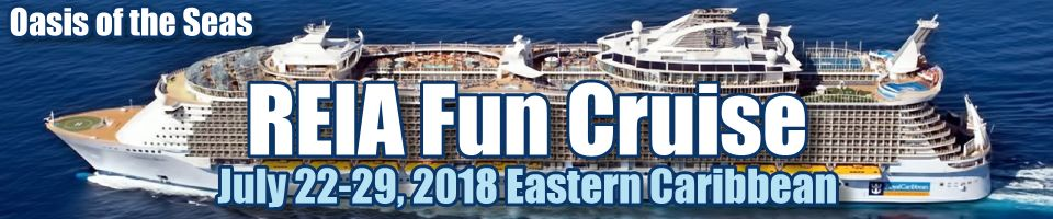 1st Annual REIA Fun Cruise July 22 - 29, 2018
